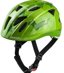 ALPINA XIMO FLASH green dino / 49-54 cm