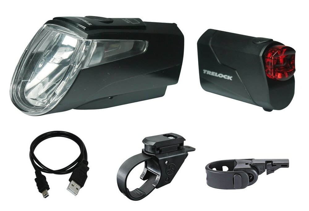LED-Akku-Leuchten Set Trelock I-go Power